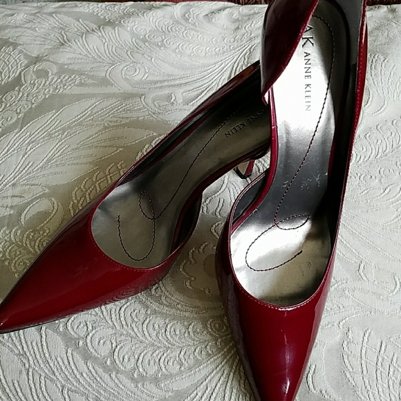 35c973db57e Anne Klein Shoes - ANNE KLEIN CHRISTA BURGUNDY DRESS PUMP